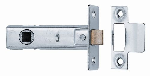 Mortice latch (chrome)